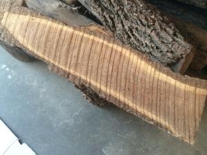 Rough cut black walnut
