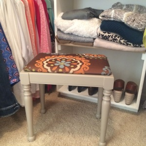 New dressing stool