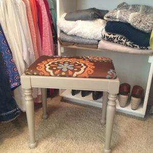 New dressing stool