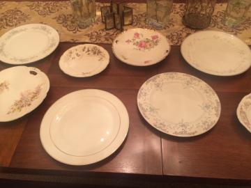 Plates, plates, and more random plates