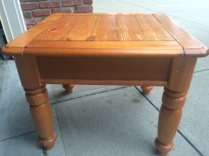 Table in it's original form