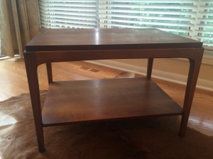 60's Lane accent table