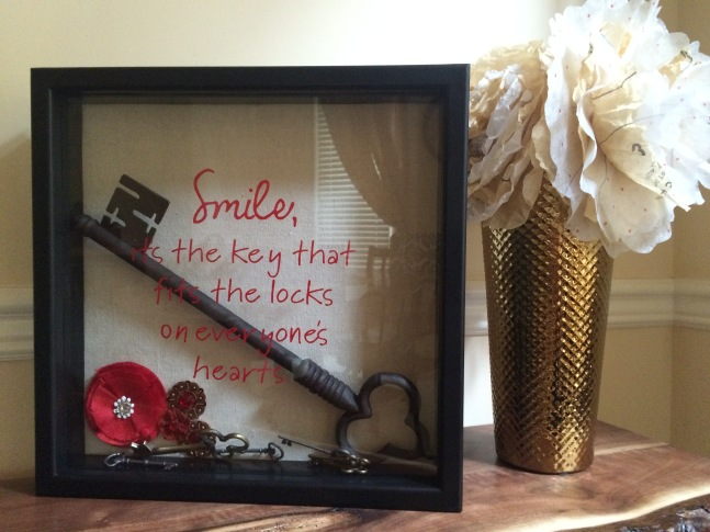 Hour-long shadow box project