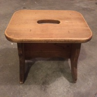 Stepping stool sanded