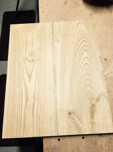 Oak boards for table top