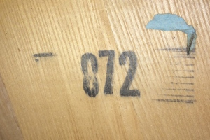 Manufacturer production date stamp