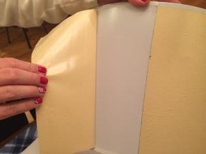 Step 3- Remove adhesive layer