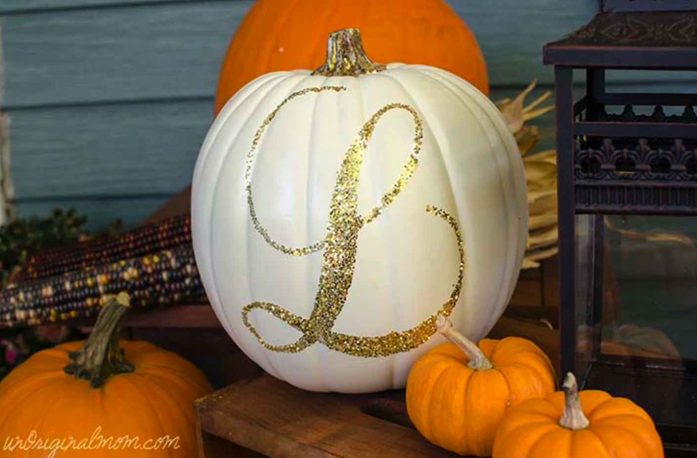 Ways to decorate a pumpkin without carving rae and rose
